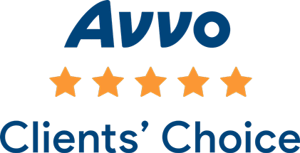 Avvo Client's Choice Award badge